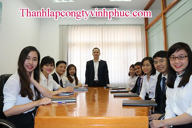 Quy trình thành lập công ty tại Phúc Yên