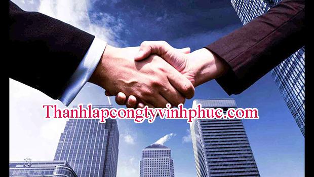 Quy trình thành lập công ty tại Vĩnh Yên