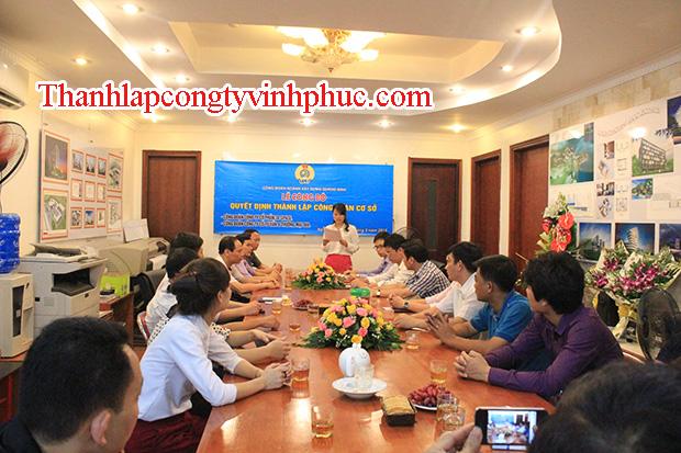 Thành lập công ty tại Tam Dương trọn gói