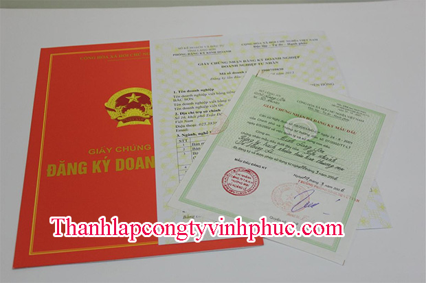 Thành lập công ty tại Vĩnh Yên giá rẻ