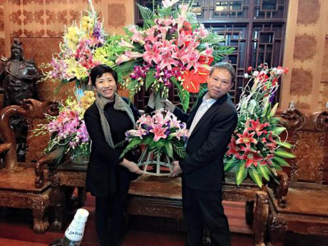 Vinh Phuc: Doanh nhan Trinh thi Ha: Tam, Tai cung toa sang - Anh 5